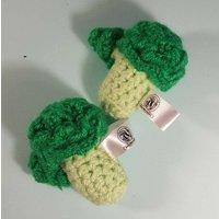 Crocheted Broccoli  Play food  Educational  Learning  Preschool  Primary School  Nursery  Home education  Teething  Toy  Soft - Educational Gifts