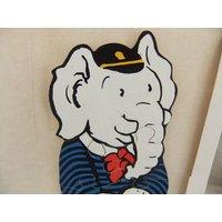 Vintage Thick Wood Edward Trunk Rupert Bear Childrens Jigsaw - Jigsaw Gifts