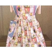 Teddy Bears Picnic 50s Full Apron, for all  Retro, Vintage Lovers, Dolly Does Vintage - Teddy Bears Gifts
