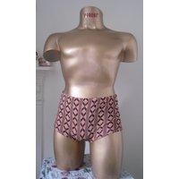 1960s Mens Swimming Trunks Swim Shorts - Swimming Gifts