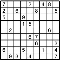 Sudoku Puzzle Sudoku Instant Download Printable Puzzle - Sudoku Gifts