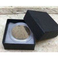 1928 90th birthday gift Halfpenny coin boxed with coin capsule - 90th Birthday Gifts