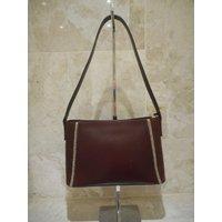 Mulberry Brown Leather Handbag Roger Saul Vintage Shoulder Bag Serial Number Vintage Genuine Authentic - Shoulder Bag Gifts