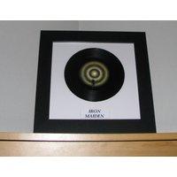 Iron Maiden Run to the hills  7 framed vinyl gift - Iron Maiden Gifts