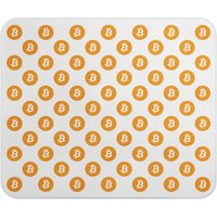 Bitcoin Logo Mouse Pad, Cryptocurrency, Hodl, Reddit, Investment, Magic Internet Money, Gift, Present, Birthday, Office, Work - Money Gifts