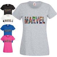 Marvel TShirt Captain America Batman Superman Spider man Ironman Hulk Gym Birthday Gift Women Ladies Top - Spider Man Gifts