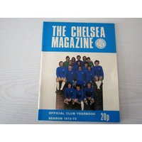 1972/73 Chelsea Original Official Football Soccer Supporters Club Handbook/Yearbook Peter Osgood Stamford Bridge Dave Sexton Charlie Cooke - Chelsea Gifts