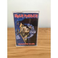 Vintage Iron Maiden No Prayer for The Dying Audio Cassette Tape - Iron Maiden Gifts