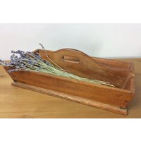 Beautiful vintage wooden cutlery tray, trug, storage tray - Cutlery Gifts