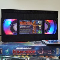 Retro VHS Lamp Star Wars The Empire Strikes Back Original Night Light Table Lamp. Multifunctional USB lights and Remote Control. Great Gift. - Remote Control Gifts