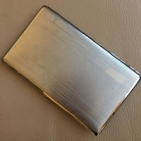 Vintage Mid Century Machine Finished Polo English Cigarette Case - Polo Gifts