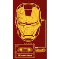 Medium: Ladies T Shirt Iron Man Walkman Red Size - Iron Man Gifts