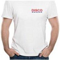 Retro DJ TShirt/ Retro DISCO Tshirt/ Dance Music T Shirt/ Like Tesco Logo/ House Music T Shirt/ Clubbing T Shirt/ Mens Funny Tshirt - Dj Gifts