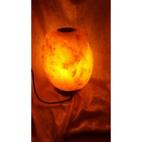 23 Kg Himalayan  Salt Aromatherapy lamp on wooden base, Ideal for Lounge or Bedroom - Aromatherapy Gifts