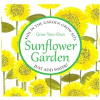 Grow Your Own SUNFLOWER GARDEN, Kids in the Garden Grow Your Own Kit, Grow Kit, Wildlife, Birds, Bees, Gardening, Sow Seeds - Grow Your Own Gifts