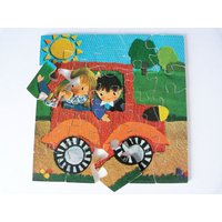 Wooden Jigsaw Puzzle Vintage Ravensburger - Jigsaw Puzzle Gifts