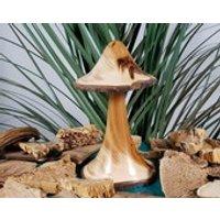 Yew wooden mushroom, Wood mushrooms, Woodturning, Turned wooden ornament, SilvanWoodturning, Woodturning, Housewarming gift, Wooden gifts - Mushroom Gifts
