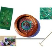 Dal Negro Home Mahogany Roulette Bundle - Roulette Gifts