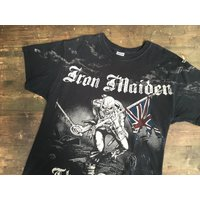 Iron Maiden Front  Back Print - Iron Maiden Gifts