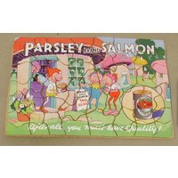 Parsley Brand Salmon Advertising Jigsaw Puzzle - Jigsaw Gifts