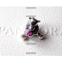 Genuine PANDORA Disney, Tigger, Pink Enamel Charm  New, Authentic - Pandora Gifts