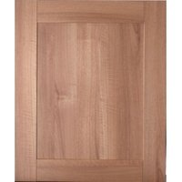 IT Kitchens Westleigh Walnut Effect Shaker Integrated Appliance Door (W)600mm