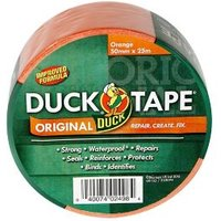 Duck Orange Duct Tape (L)25m (W)50mm