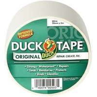 Duck White Duct Tape (L)5m (W)50mm