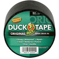 Duck Black Cloth Tape (L)5M (W)50mm