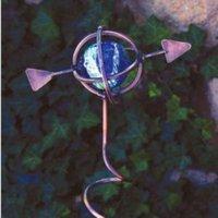 Illuminarie Armillary Sphere Decorative Stake