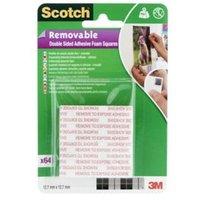 Scotch Grey Double-sided Tape (L)0.01m (W)12.7mm