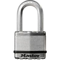 Master Lock Excell Steel 4-Pin Tumbler Cylinder Open Shackle Padlock (W)50mm