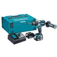 Makita LXT Cordless 18V 5Ah Li-Ion Combi Drill 2 Batteries DHP481RTJ