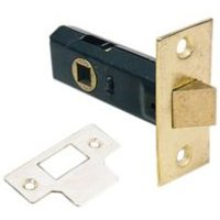 75mm Electro-Plated Brass 1 Lever Tubular Latch