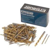 Erbauer HSS Drill bit trade pack (L)110mm  150 Set 1-6 mm