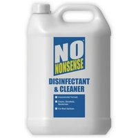 No Nonsense Concentrated Multi-surface hard non-porous surfaces Disinfectant & cleaner 5L Bottle