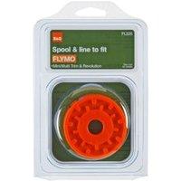 B&Q Spool & line To fit Flymo models (T)1.5mm
