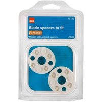 B&Q White Blade Spacers  Pack of 2