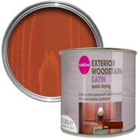 Colours Oak Satin Woodstain 0.25L