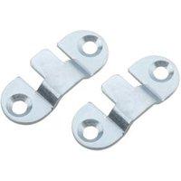 B&Q Mild Steel Mini Mount (L)40mm  Pack of 4