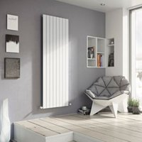 Ximax Vertirad Vertical/horizontal Designer radiator White (H)1500 mm (W)445 mm