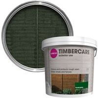 'Colours Timbercare Forest Green Fence & Shed Wood Stain  5l