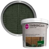 'Colours Timbercare Forest Green Fence & Shed Wood Stain  9l