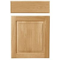 Cooke & Lewis Chesterton Solid Oak Classic Drawerline Door & Drawer Front (W)500mm  Pack of 1