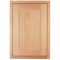 Cooke & Lewis Carisbrooke Oak Framed Standard door (W)500mm