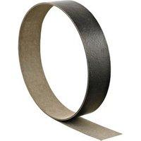 Basalt slate Stone effect Grey Worktop edging tape (L)3000mm