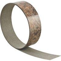 Butterum Brown Worktop edging tape (L)3000mm