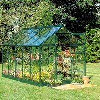B&Q Metal 6X10 Toughened Safety Glass Greenhouse