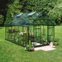 B&Q Metal 8X10 Horticultural Glass Greenhouse