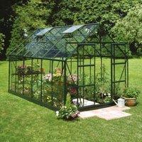 B&Q Metal 8x12 Horticultural glass greenhouse